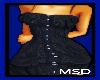 *MSD* NAVY PLEAT DRESS