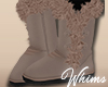 Taupe Fur Boots