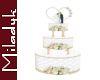 MLK Tower Wedding Cake
