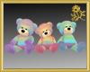 Rainbow Teddy Set