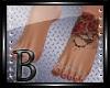 {A} Feet Tattoo Roses