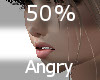 50% Angry F A