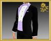 Lavender Trim Tux/Tails
