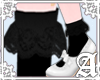 Ankle Frill Add Black~