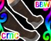 CMC* Chocolate WedgeBoot