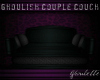 Ghoulish Couple Couch