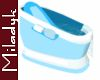 MLK Blue baby tub