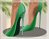 -Mm- Slay Green Heels