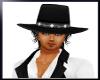 ~T~Black Cowboy Hat