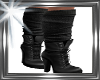 ! leather boots w socks