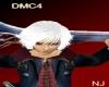 DMC4 Nero Hair White