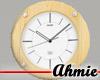 Ikia™ Pine Clock