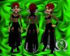 Sin-der dress in black
