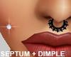 Septum Piercing - Dimple
