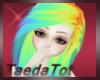 Rainbow hair Female