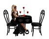 Gothic  table for 2
