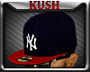 KD.NY Red Navy Fitted