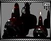 -P- Skull Chandelier Bld