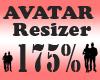 Avatar Scaler 175% / F