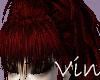 [Vin] Dark Red Bangs