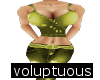 Gold Sweet Girl Fit volp