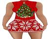 Christmas dress tree