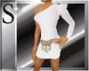 Barbara white dress