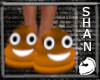 Orange Poo Shoe f