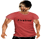 FIRETRAP RED TEE