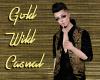 Gold Wild Casual Vest