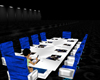 conference table blue