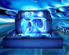 Blue Skull Fountain