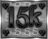 15k SUPPORT STICKER