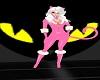Black Cat Goggles Pink