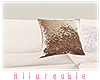 A* Xmas Gold Cushion 2