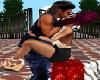 san valentino posa kiss