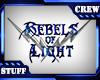 Rebels OL 3D Wall Sign B