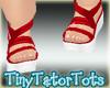 Kids Red Sandals