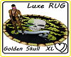 Luxe Golden Skull Rug XL