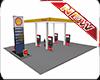 Shells Gas Station Pumps