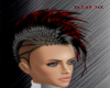 mohawks red and black F