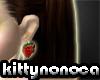 kn *strawberry earings*