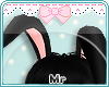 MR-Bunny Ears black<3