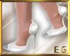EG-Shoes White silver