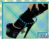 [KChi]Blue Ankle Beads