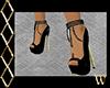 Sexy Black Pearl Heels