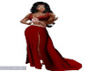 TEF LISANE RED GOWN
