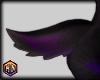 tail v2 black purple fur