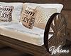 Barn Wedding Loveseat