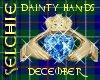 !!S Dainty Claddagh Dec.